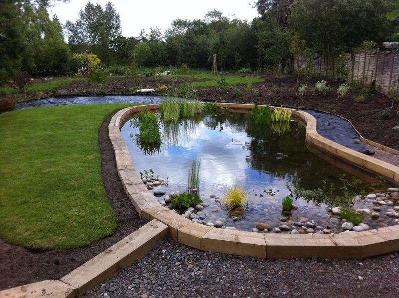 Peter Whitehead - Large pond construction and lining