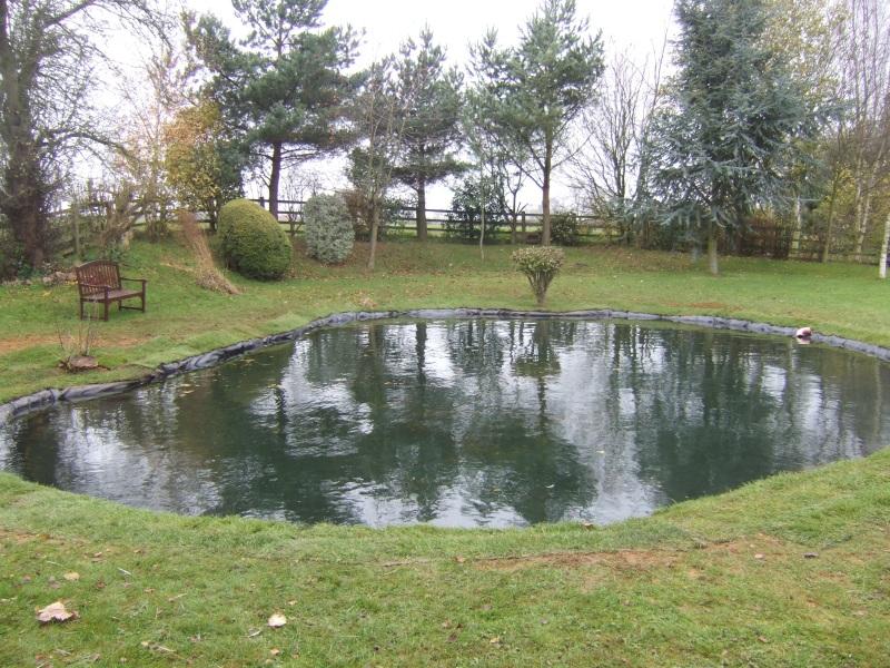 Charles Williams - Large pond reline