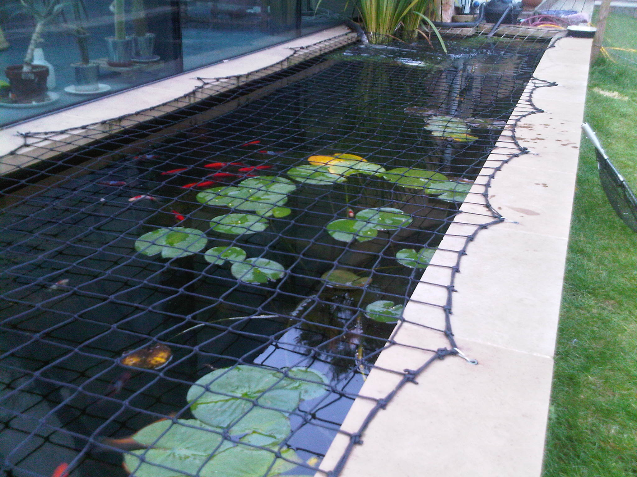 Pond reline
