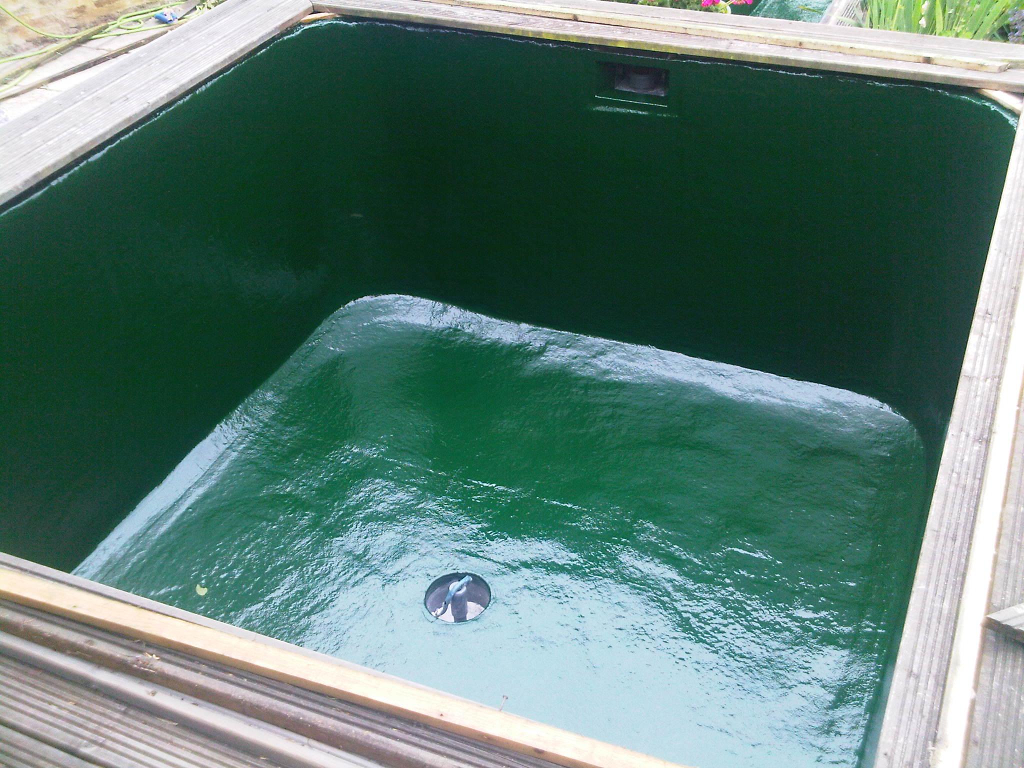 Pond re lines and fibre glassing for Best pond filter setup