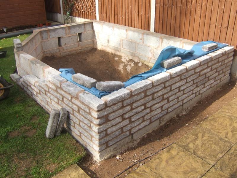 Mr Sharpe's New Build Raised Koi Pond