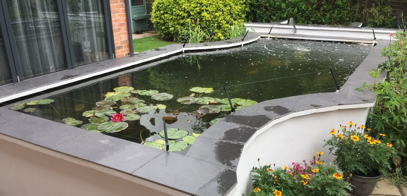 Pond with slate Edge